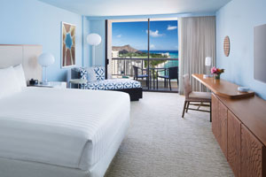 Hyatt Regency Waikiki Beach Resort & Spa - Ocean View Room
